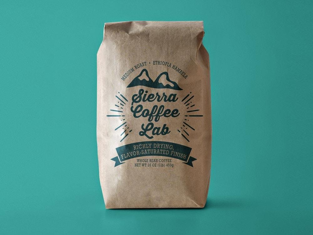 custom coffee bags stunning quality low minimums inkable